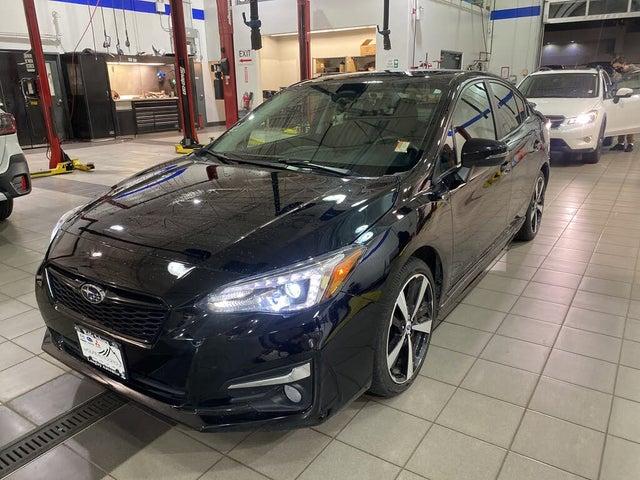 2018 Subaru Impreza Sport-Tech Sedan AWD with EyeSight Package