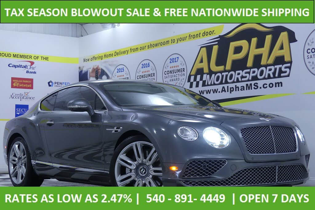 Used 2016 Bentley Continental Gt For Sale Right Now Cargurus
