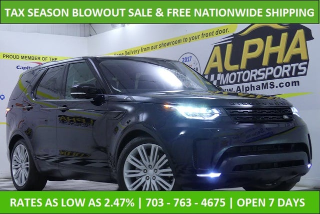 2017 Land Rover Discovery First Edition AWD