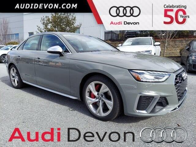 2021 Audi S4 3.0T quattro Premium Plus AWD