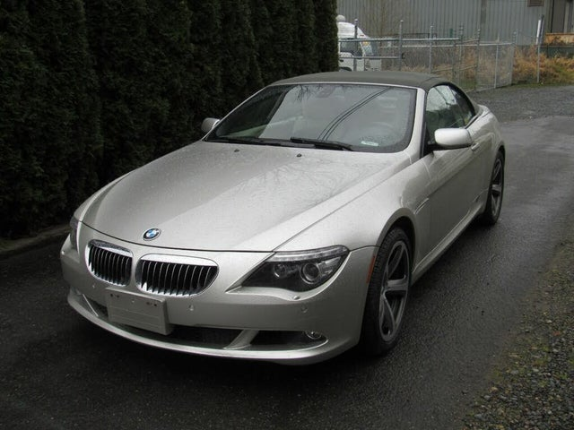 2008 BMW 6 Series 650i Convertible RWD