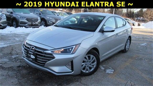 2019 Hyundai Elantra SE Sedan FWD