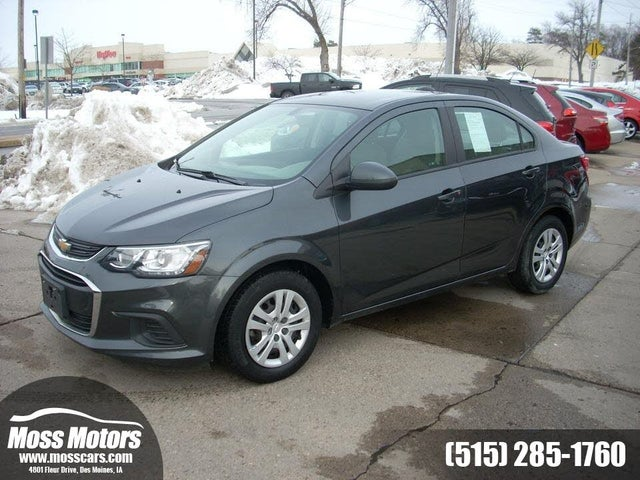 2018 Chevrolet Sonic LS Sedan FWD