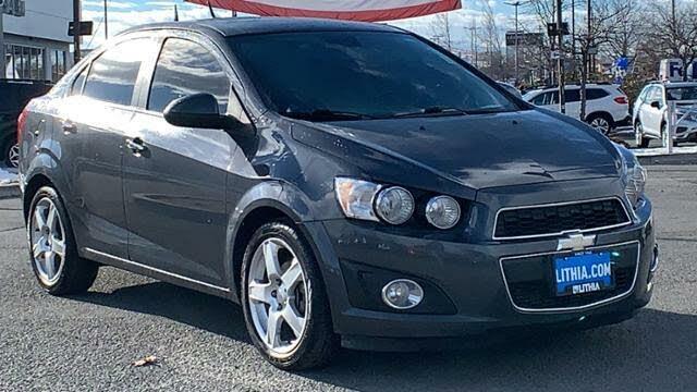 2012 Chevrolet Sonic LTZ 1LZ Sedan FWD