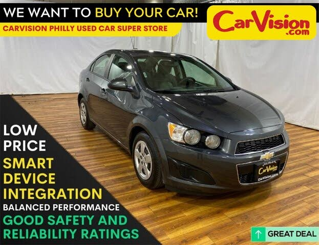 2016 Chevrolet Sonic LS Sedan FWD