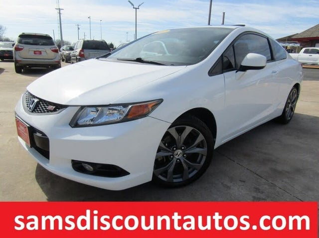 2012 Honda Civic Coupe Si with Nav and Summer Tires