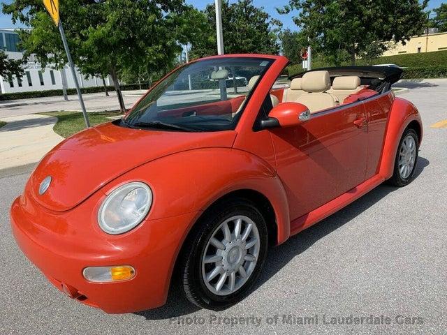 2005 Volkswagen Beetle GLS 2.0L Convertible