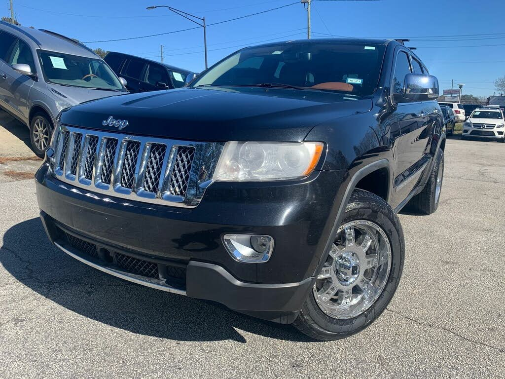 Used 2011 Jeep Grand Cherokee Overland For Sale Right Now Cargurus