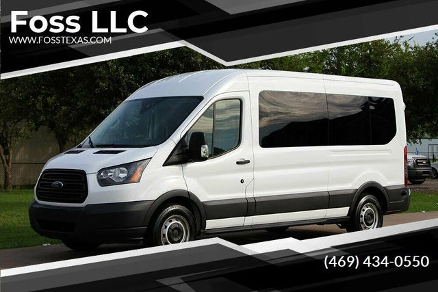 2016 Ford Transit Passenger 350 XL Medium Roof LWB RWD with Sliding Passenger-Side Door