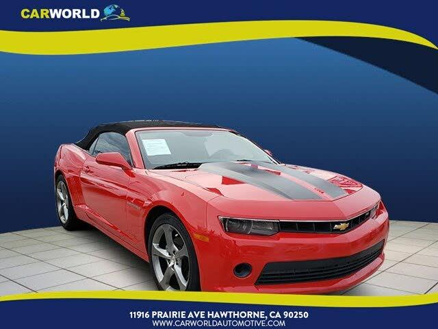 2014 Chevrolet Camaro 1LT Convertible RWD
