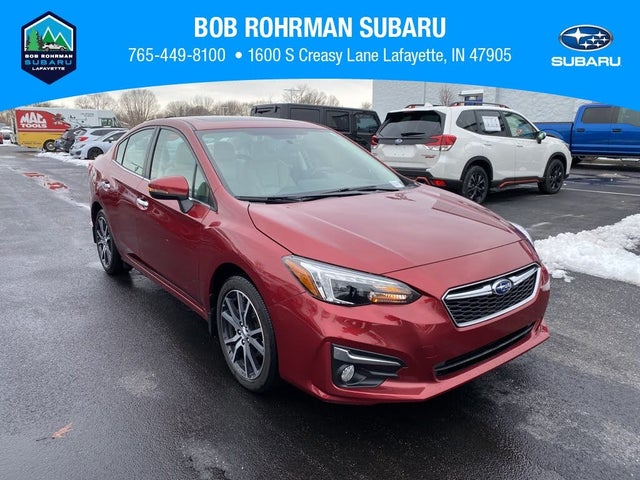 2019 Subaru Impreza 2.0i Limited Sedan AWD