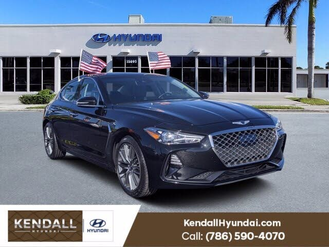 2019 Genesis G70 2.0T Advanced RWD