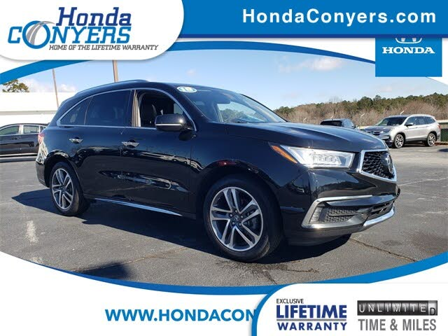 2018 Acura MDX SH-AWD with Advance and Entertainment Package