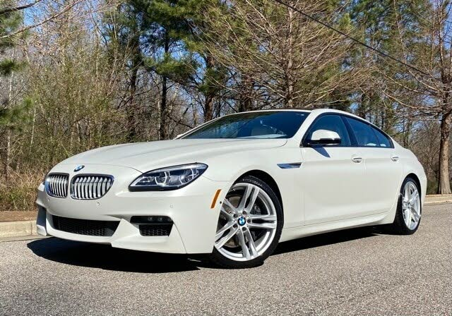 2016 BMW 6 Series 650i Gran Coupe RWD