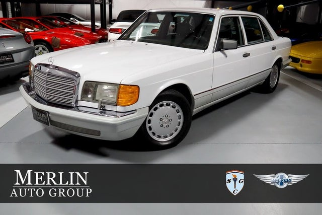 1991 Mercedes-Benz 560-Class 4 Dr 560SEL Sedan