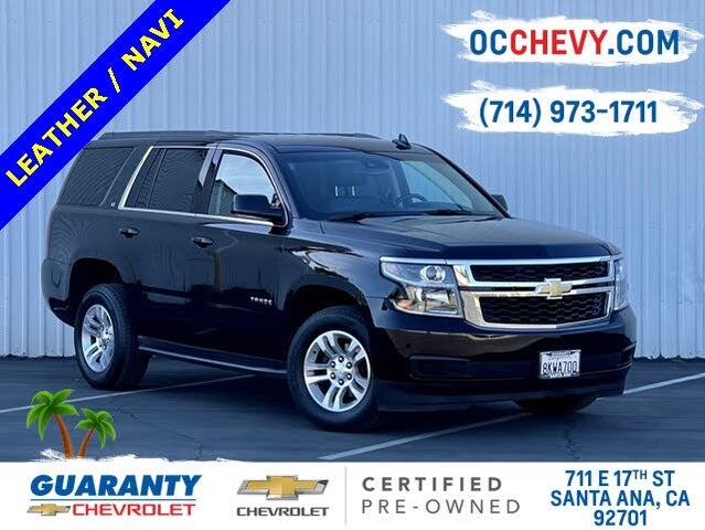 2020 Chevrolet Tahoe LT RWD