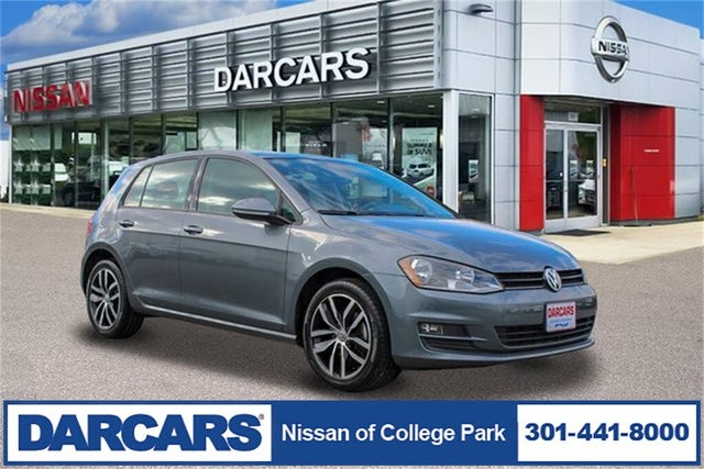 2017 Volkswagen Golf 1.8T SEL 4-Door FWD