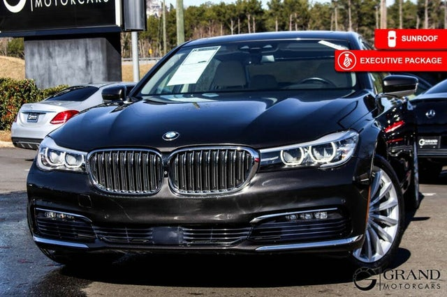 2017 BMW 7 Series 740i RWD