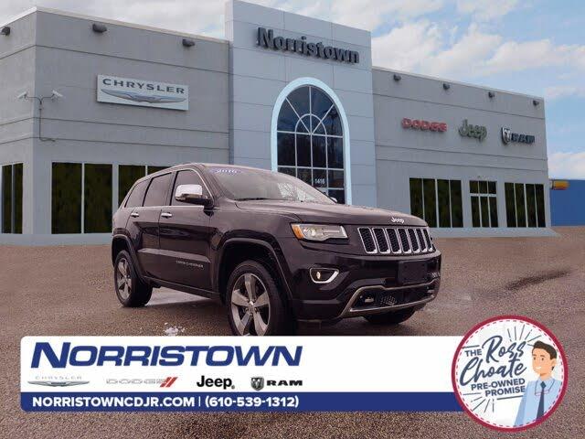 2016 Jeep Grand Cherokee Overland 4WD