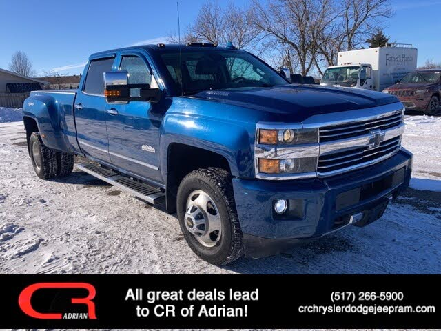 2016 Chevrolet Silverado 3500HD High Country Crew Cab 4WD