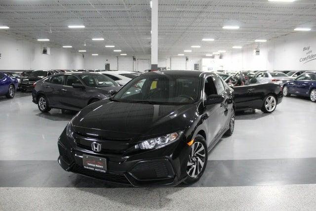 2018 Honda Civic Hatchback LX FWD with Honda Sensing