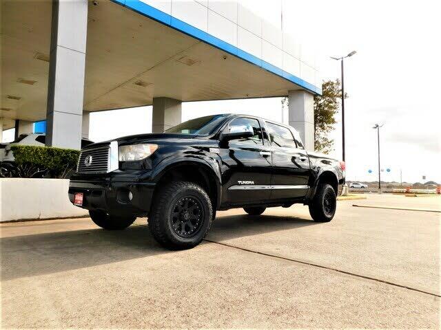 2012 Toyota Tundra Limited CrewMax 5.7L FFV 4WD