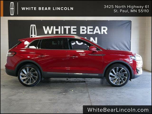 2020 Lincoln Nautilus Reserve AWD