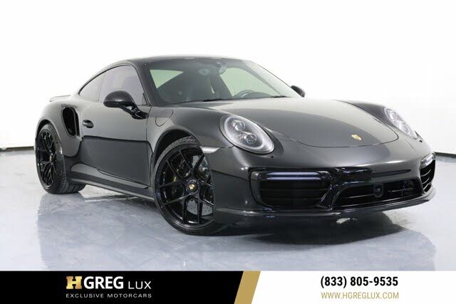 2017 Porsche 911 Turbo S Coupe AWD