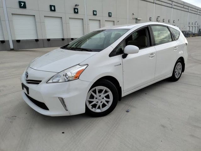 2012 Toyota Prius v Two FWD