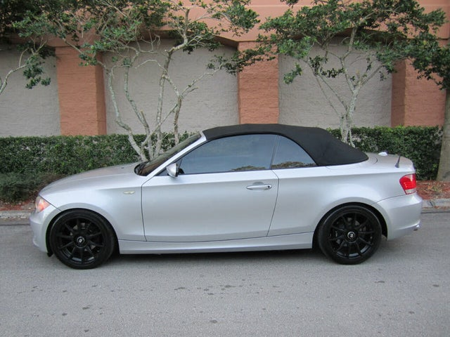 2009 BMW 1 Series 128i Convertible RWD