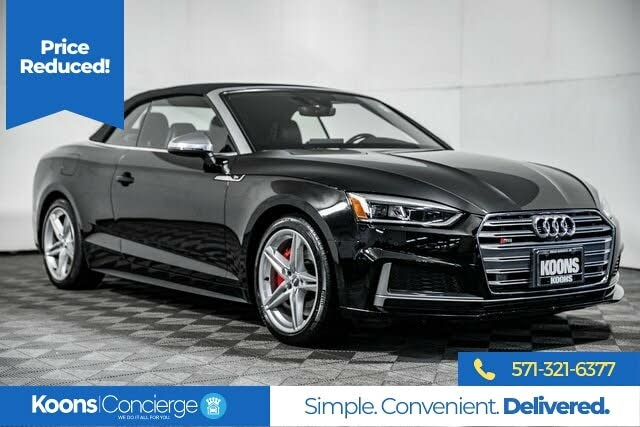2018 Audi S5 3.0T quattro Prestige Cabriolet AWD
