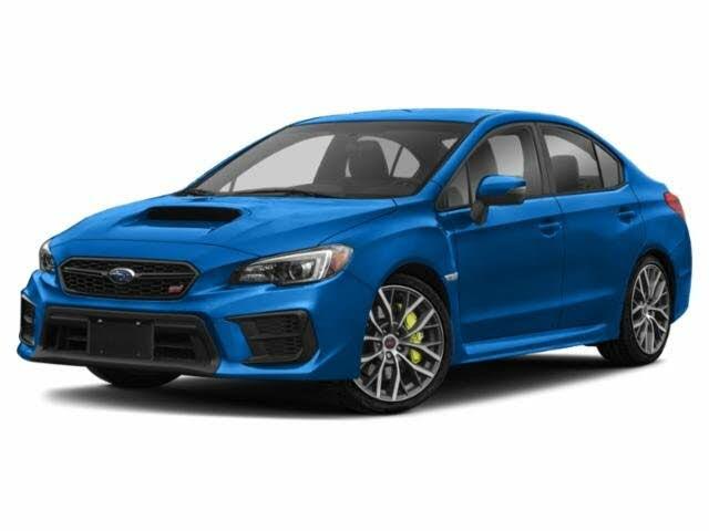 2020 Subaru WRX STI Limited AWD with Low Profile Spoiler