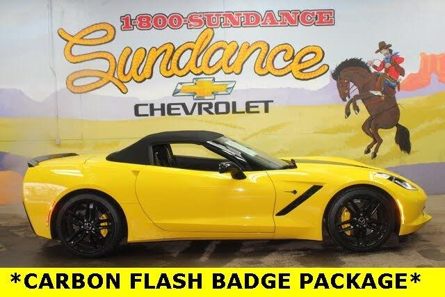 2015 Chevrolet Corvette Stingray Z51 1LT Convertible RWD