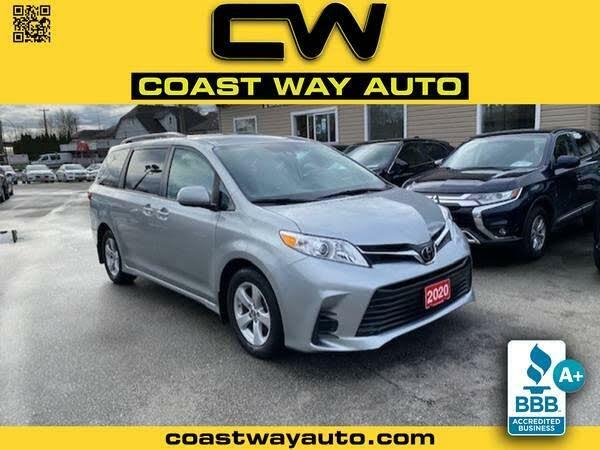 2020 Toyota Sienna LE 8-Passenger FWD