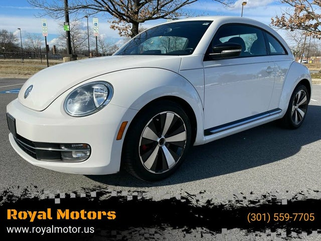 2012 Volkswagen Beetle White Turbo