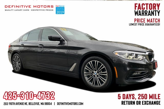 Used 2017 Bmw 5 Series 540i Xdrive Sedan Awd For Sale Right Now Cargurus