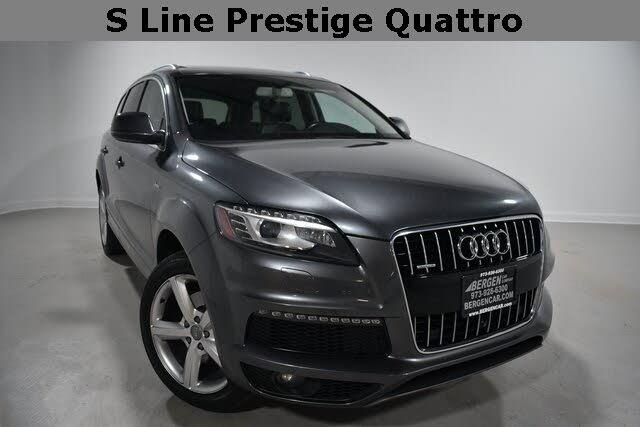 2015 Audi Q7 3.0T quattro S-Line Prestige AWD