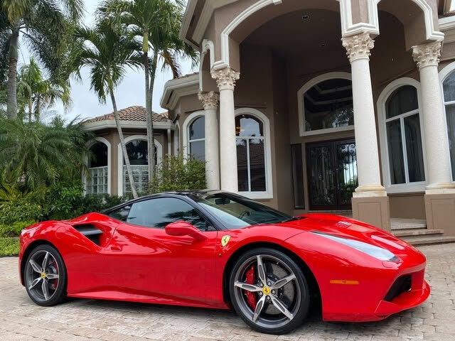 Used 2019 Ferrari 488 Gtb Coupe Rwd For Sale Right Now Cargurus