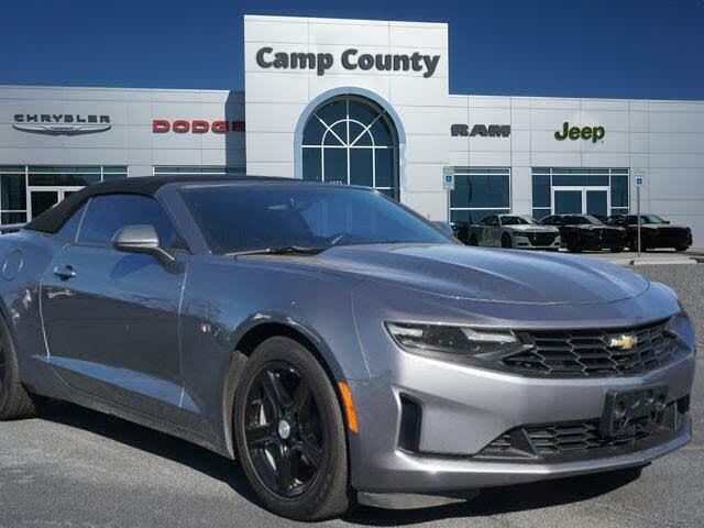 2020 Chevrolet Camaro 1LT Convertible RWD