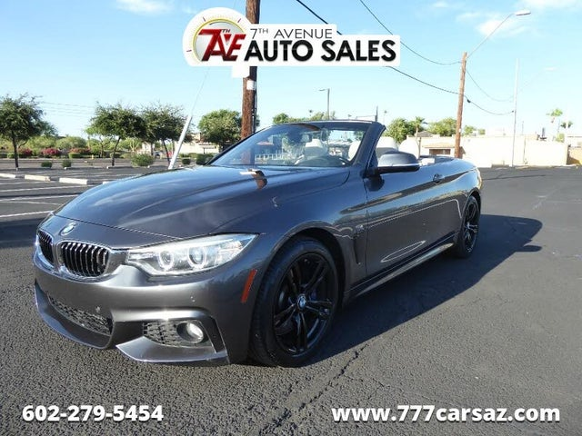 Used Bmw 4 Series 435i Convertible Rwd For Sale With Photos Cargurus