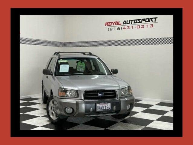 2003 Subaru Forester XS