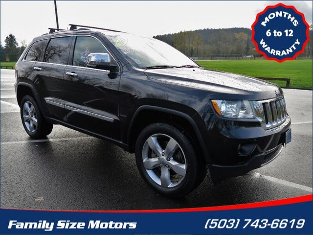 2011 Jeep Grand Cherokee Overland Summit 4WD