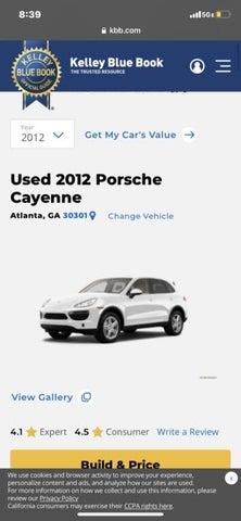 2012 Porsche Cayenne AWD