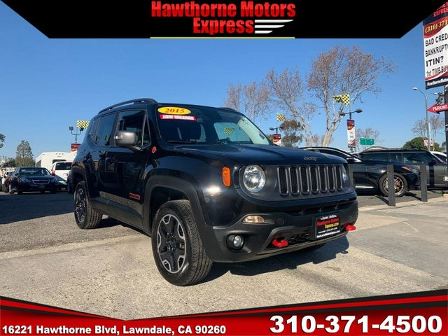 2015 Jeep Renegade Trailhawk 4WD