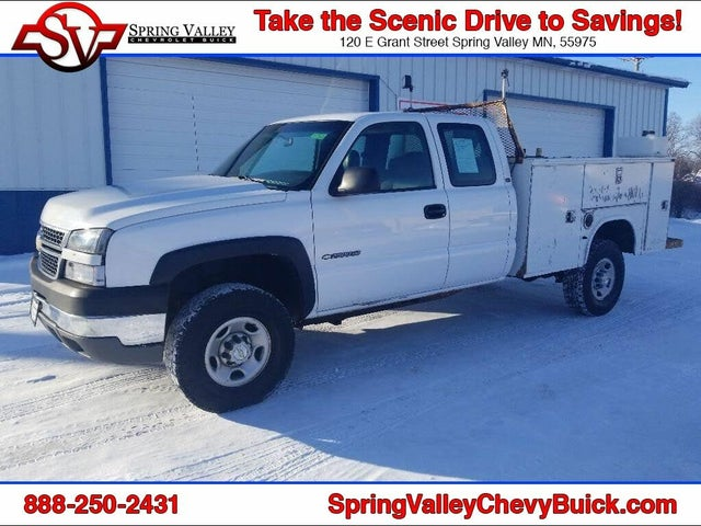 2005 Chevrolet Silverado 2500HD Work Truck Extended Cab 4WD