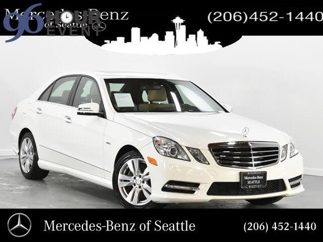 Used Mercedes Benz E Class For Sale In Seattle Wa Cargurus