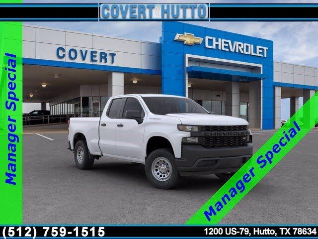 2020 Chevrolet Silverado 1500 Work Truck Double Cab RWD