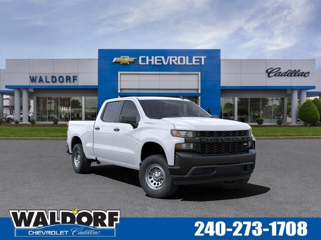 2021 Chevrolet Silverado 1500 Work Truck Crew Cab RWD