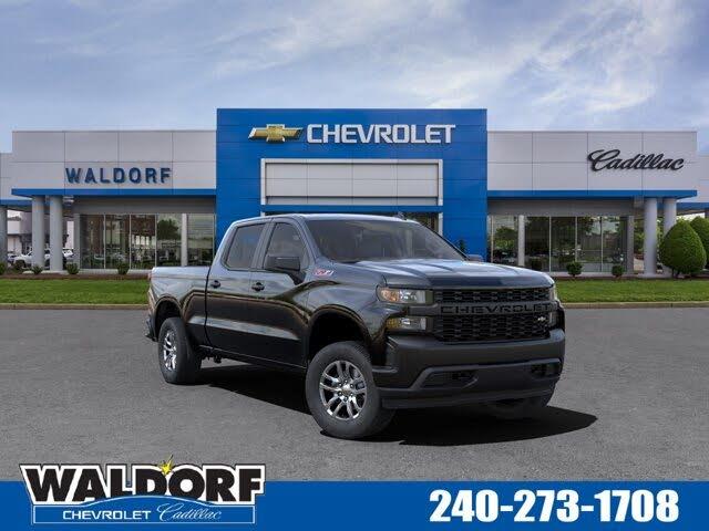 2021 Chevrolet Silverado 1500 Work Truck Crew Cab 4WD