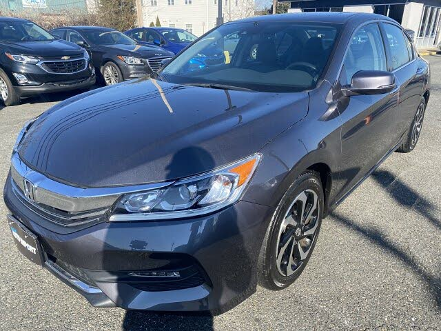 2017 Honda Accord EX-L FWD with Navigation and Honda Sensing